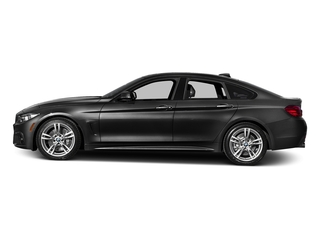 Jet Black 2016 BMW 4 Series Pictures 4 Series Sedan 4D 435i I6 Turbo photos side view