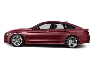 Melbourne Red Metallic 2016 BMW 4 Series Pictures 4 Series Sedan 4D 435i I6 Turbo photos side view