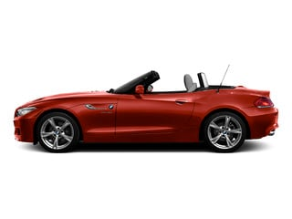 Melbourne Red Metallic 2016 BMW Z4 Pictures Z4 Roadster 2D Z4 35is I6 photos side view