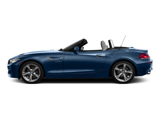 Deep Sea Blue Metallic 2016 BMW Z4 Pictures Z4 Roadster 2D Z4 35is I6 photos side view