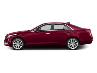 Red Obsession Tintcoat 2016 Cadillac CTS Sedan Pictures CTS Sedan 4D Luxury I4 Turbo photos side view