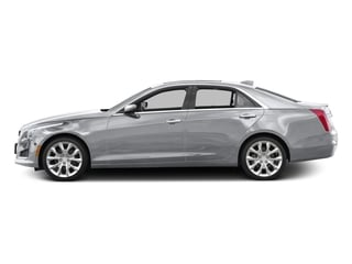 Radiant Silver Metallic 2016 Cadillac CTS Sedan Pictures CTS Sedan 4D Luxury I4 Turbo photos side view