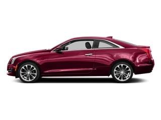 Red Obsession Tintcoat 2016 Cadillac ATS Coupe Pictures ATS Coupe 2D Luxury AWD I4 Turbo photos side view