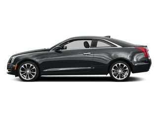 Moonstone Metallic 2016 Cadillac ATS Coupe Pictures ATS Coupe 2D Luxury AWD I4 Turbo photos side view