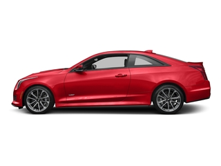Velocity Red 2016 Cadillac ATS-V Coupe Pictures ATS-V Coupe 2D V-Series V6 Turbo photos side view