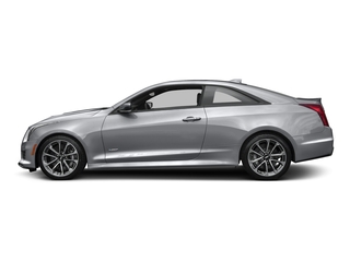 Radiant Silver Metallic 2016 Cadillac ATS-V Coupe Pictures ATS-V Coupe 2D V-Series V6 Turbo photos side view