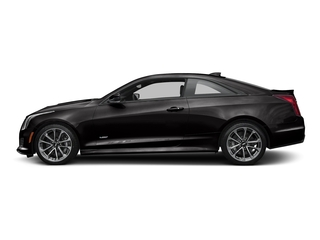Black Raven 2016 Cadillac ATS-V Coupe Pictures ATS-V Coupe 2D V-Series V6 Turbo photos side view