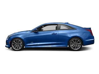 Vector Blue Metallic 2016 Cadillac ATS-V Coupe Pictures ATS-V Coupe 2D V-Series V6 Turbo photos side view