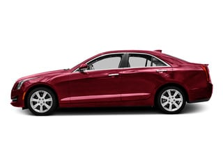 Red Obsession Tintcoat 2016 Cadillac ATS Sedan Pictures ATS Sedan 4D AWD I4 Turbo photos side view