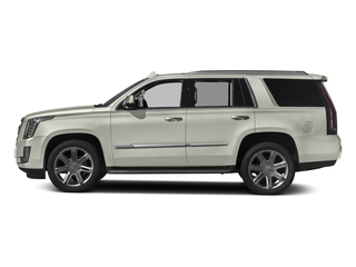 Crystal White Tricoat 2016 Cadillac Escalade Pictures Escalade Utility 4D 4WD V8 photos side view