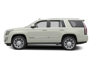 Crystal White Tricoat 2016 Cadillac Escalade Pictures Escalade Utility 4D Platinum 4WD V8 photos side view