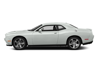 Bright White Clearcoat 2016 Dodge Challenger Pictures Challenger Coupe 2D SXT V6 photos side view
