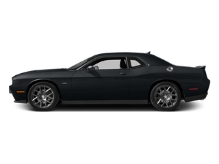 Maximum Steel Metallic Clearcoat 2016 Dodge Challenger Pictures Challenger Coupe 2D R/T Plus V8 photos side view