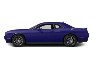 Plum Crazy Pearlcoat 2016 Dodge Challenger Pictures Challenger Coupe 2D R/T Plus V8 photos side view