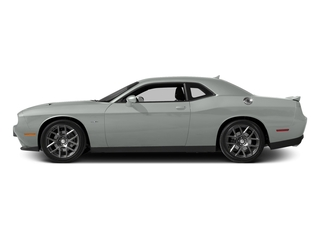 Bright White Clearcoat 2016 Dodge Challenger Pictures Challenger Coupe 2D R/T Plus V8 photos side view