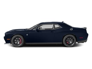 Jazz Blue Pearlcoat 2016 Dodge Challenger Pictures Challenger Coupe 2D SRT Hellcat V8 Supercharged photos side view