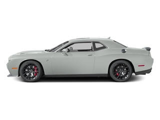 Bright White Clearcoat 2016 Dodge Challenger Pictures Challenger Coupe 2D SRT Hellcat V8 Supercharged photos side view