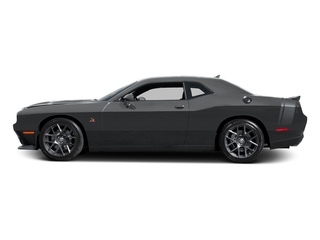Granite Pearlcoat 2016 Dodge Challenger Pictures Challenger Coupe 2D R/T Scat Pack V8 photos side view