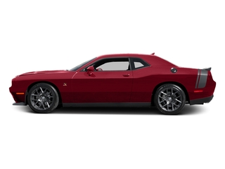Redline Red Tricoat Pearl 2016 Dodge Challenger Pictures Challenger Coupe 2D R/T Scat Pack V8 photos side view