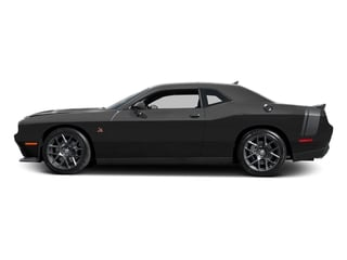 Pitch Black Clearcoat 2016 Dodge Challenger Pictures Challenger Coupe 2D R/T Scat Pack V8 photos side view