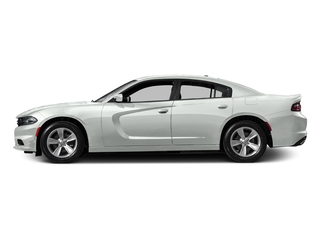 Bright White Clearcoat 2016 Dodge Charger Pictures Charger Sedan 4D SE AWD V6 photos side view