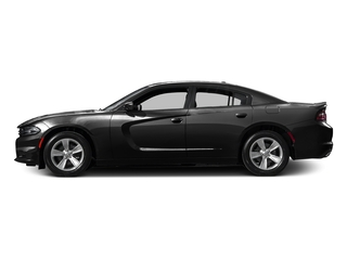 Pitch Black Clearcoat 2016 Dodge Charger Pictures Charger Sedan 4D SE AWD V6 photos side view
