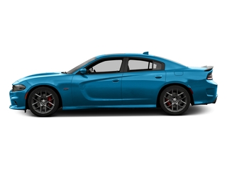 B5 Blue Pearlcoat 2016 Dodge Charger Pictures Charger Sedan 4D R/T Scat Pack V8 photos side view