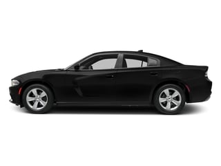 Pitch Black Clearcoat 2016 Dodge Charger Pictures Charger Sedan 4D SXT AWD V6 photos side view