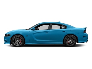 B5 Blue Pearlcoat 2016 Dodge Charger Pictures Charger Sedan 4D SRT 392 V8 photos side view