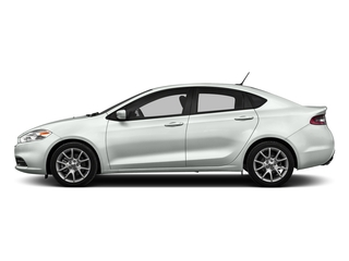 Bright White Clearcoat 2016 Dodge Dart Pictures Dart Sedan 4D SXT Sport I4 photos side view
