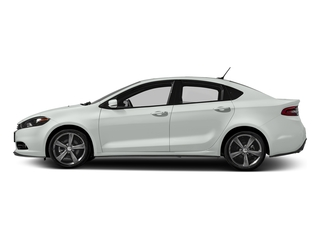 Bright White Clearcoat 2016 Dodge Dart Pictures Dart Sedan 4D GT Sport I4 photos side view