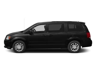 Brilliant Black Crystal Pearlcoat 2016 Dodge Grand Caravan Pictures Grand Caravan Grand Caravan R/T V6 photos side view