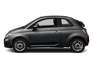 Granito Lucente (Granite Crystal) 2016 FIAT 500c Pictures 500c Convertible 2D Pop I4 photos side view