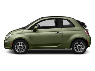 Verde Oliva (Olive Green) 2016 FIAT 500c Pictures 500c Convertible 2D Pop I4 photos side view