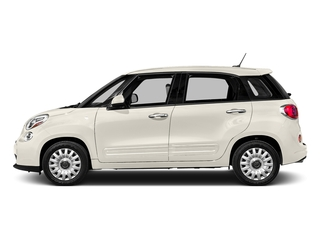 Bianco (White) 2016 FIAT 500L Pictures 500L Hatchback 5D L Easy I4 Turbo photos side view