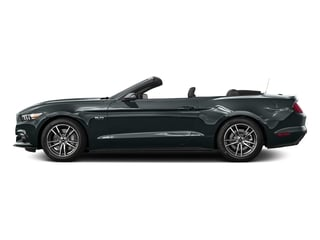 Guard Metallic 2016 Ford Mustang Pictures Mustang Convertible 2D GT Premium V8 photos side view