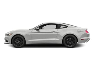Oxford White 2016 Ford Mustang Pictures Mustang Coupe 2D GT V8 photos side view