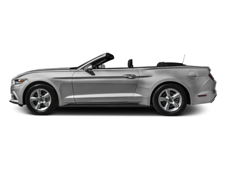 Ingot Silver Metallic 2016 Ford Mustang Pictures Mustang Convertible 2D V6 photos side view