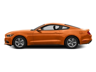 Competition Orange 2016 Ford Mustang Pictures Mustang Coupe 2D EcoBoost Premium I4 Turbo photos side view