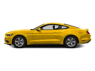 Triple Yellow Tri-Coat 2016 Ford Mustang Pictures Mustang Coupe 2D EcoBoost Premium I4 Turbo photos side view