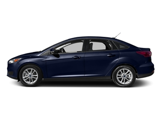 Kona Blue 2016 Ford Focus Pictures Focus Sedan 4D SE I4 photos side view