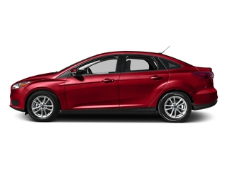 Race Red 2016 Ford Focus Pictures Focus Sedan 4D SE EcoBoost I3 Turbo photos side view