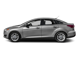 Ingot Silver 2016 Ford Focus Pictures Focus Sedan 4D S I4 photos side view