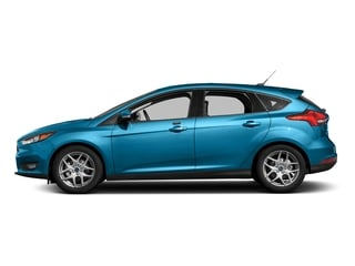 Blue Candy Metallic Tinted Clearcoat 2016 Ford Focus Pictures Focus Hatchback 5D SE EcoBoost I3 Turbo photos side view