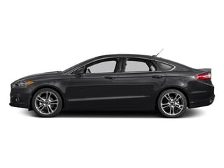 Shadow Black 2016 Ford Fusion Pictures Fusion Sedan 4D Titanium AWD I4 Turbo photos side view