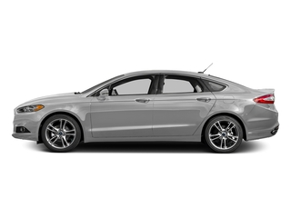 Ingot Silver 2016 Ford Fusion Pictures Fusion Sedan 4D Titanium AWD I4 Turbo photos side view