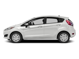White Platinum Metallic Tri-Coat 2016 Ford Fiesta Pictures Fiesta Hatchback 5D SE EcoBoost I3 Turbo photos side view