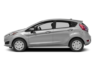 Ingot Silver Metallic 2016 Ford Fiesta Pictures Fiesta Hatchback 5D SE EcoBoost I3 Turbo photos side view
