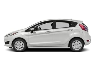 Oxford White 2016 Ford Fiesta Pictures Fiesta Hatchback 5D SE EcoBoost I3 Turbo photos side view