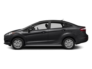 Shadow Black 2016 Ford Fiesta Pictures Fiesta Sedan 4D SE I4 photos side view